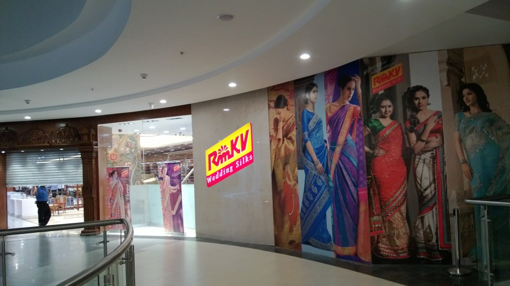 RMKV store at Phoenix mall, Velachery, Chennai