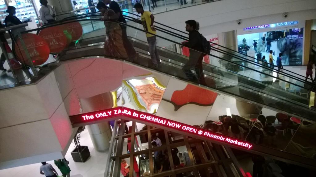 ZARA now open at Chennai Phoenix mall