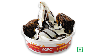 Desserts Brownie Sundae in KFC