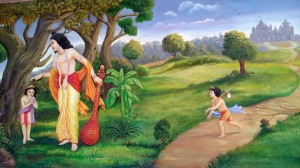 Paintings at ISKCON temple - Pune (1)