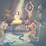 Paintings at ISKCON temple - Pune (12)