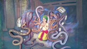 Paintings at ISKCON temple - Pune (13)