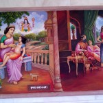 Paintings at ISKCON temple - Pune