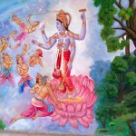 Paintings at ISKCON temple - Pune (2)