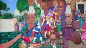 Paintings at ISKCON temple - Pune (25)