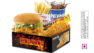 ZingKongbox Chicken in KFC