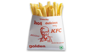 sides Fries in KFC