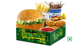 Veg Zingkongbox in KFC