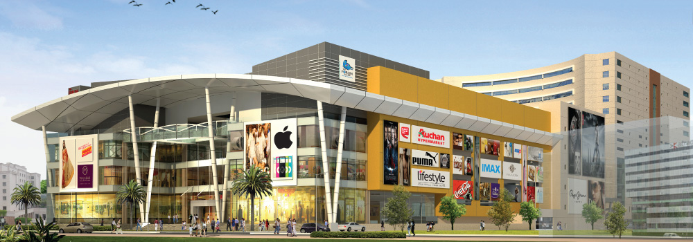 Forum vijaya mall front view