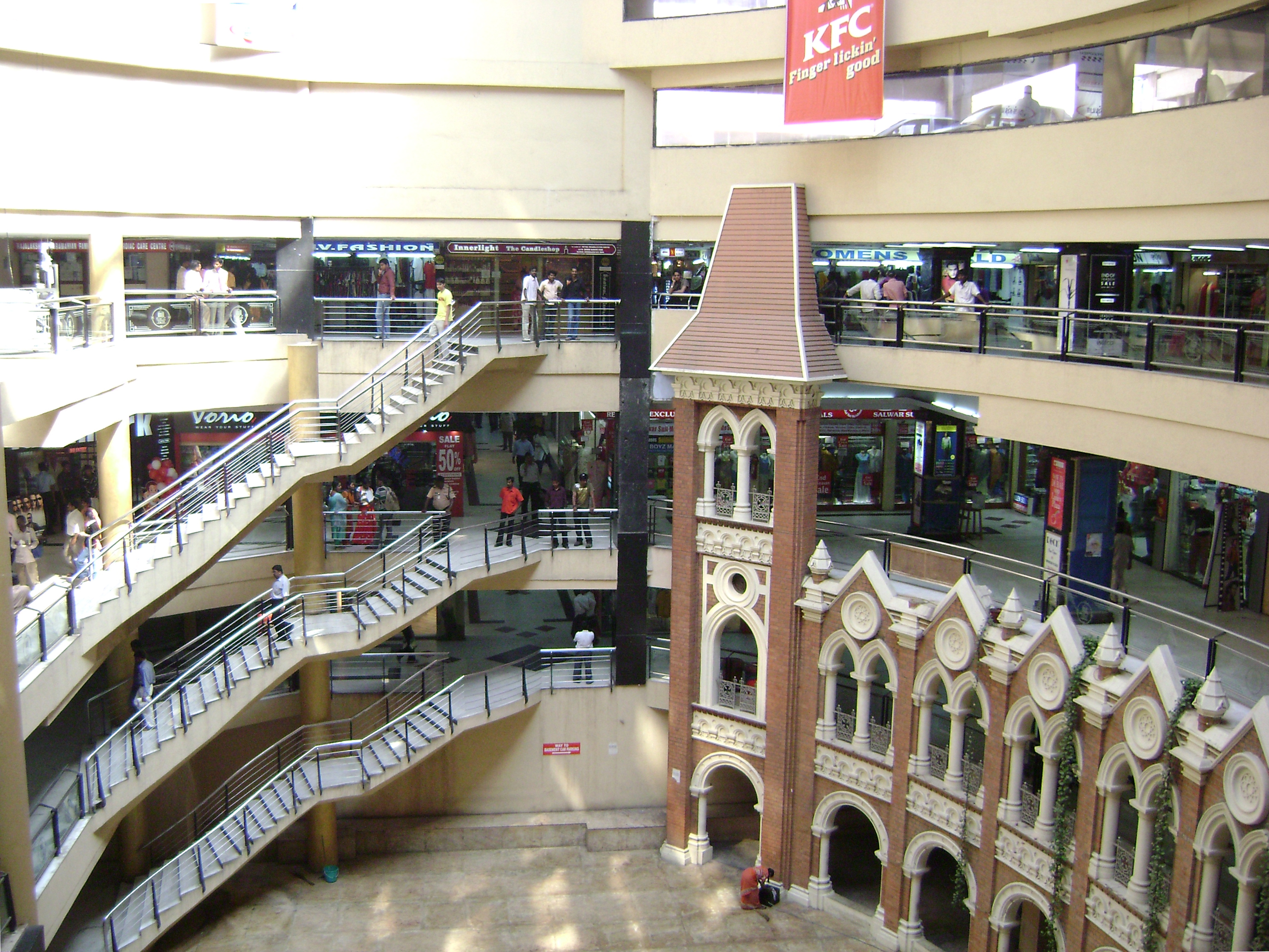 Spencer Plaza Interior