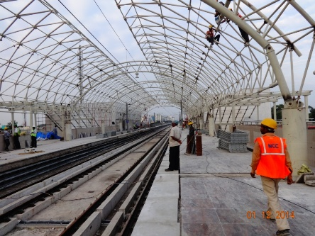 Chennai-Metro-Rail-Ekkatutthangal-work