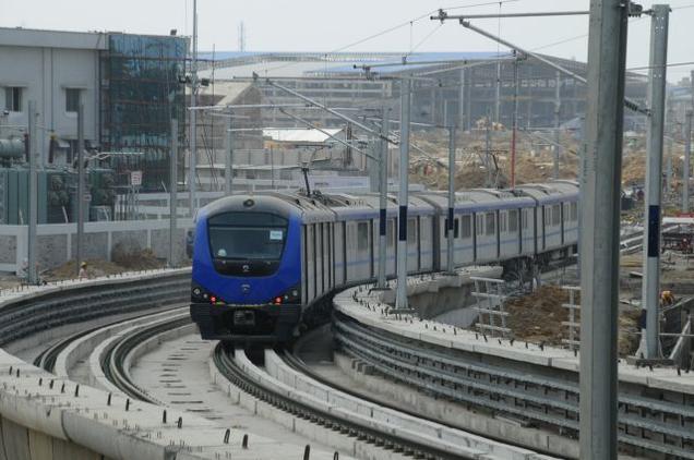 Chennai-Metro-Rail