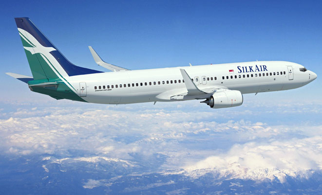 Silk Air SLK 737-800 ArtworkK65786