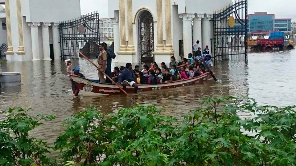 Flood in Chennai 2015